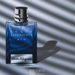 Salvatore Ferragamo 菲拉格慕 Acqua Essenziale Blu 湛蓝之水 男士淡香水 100ml装 4.3折$27.79 海淘转运到手约¥227