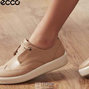 ECCO 爱步 Soft 9 柔酷9号 布洛克风格 女式休闲鞋 39码2折$35.4 海淘转运到手约¥341