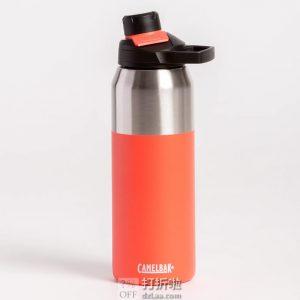 Camelbak 驼峰 Chute Mag 不锈钢 户外双层保温便携保温杯 水壶 1L 5.6折$19.99 海淘转运到手约¥171