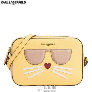 Karl Lagerfeld Paris 卡尔·拉格斐 Maybelle 可爱相机包 挎包 2.9折$51.91 海淘转运到手约¥399
