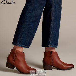 Clarks 其乐 Maypearl Fawn 女式短靴 5码1.3折$17.86 海淘转运到手约¥216