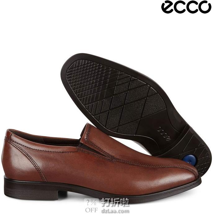 ECCO 爱步 Queenstown Bike Toe Slip-On 一脚套男鞋 4.5折$44.97起 海淘转运到手¥405