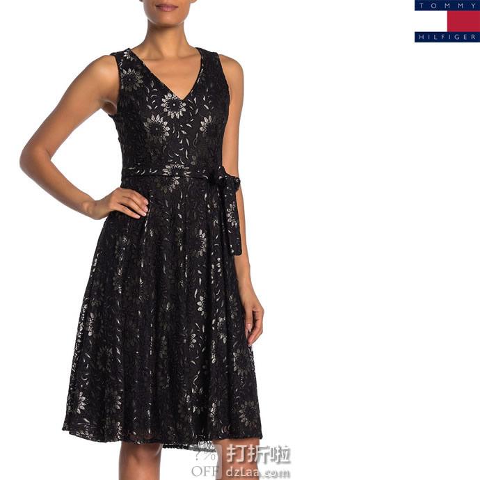 Tommy Hilfiger 汤美费格 女式印花连衣裙 3.3折$47.99 海淘转运到手约¥354