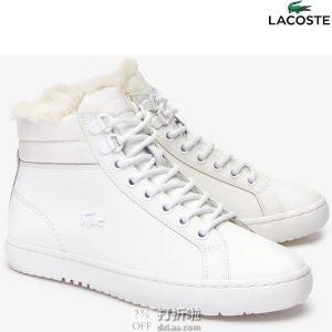 Lacoste 法国鳄鱼 Straightset 女式保暖短靴 36码2.8折$35.93 海淘转运到手约¥344