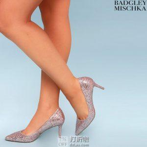 Badgley Mischka 巴吉利·米诗卡 Lyla 亮片 女式高跟鞋 单鞋 36.5码5.9折$52.54 海淘转运到手约¥461