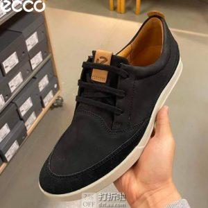 ECCO 爱步 Cathum Leisure 男式系带休闲鞋 4.5折$44.66起 海淘转运到手约¥401