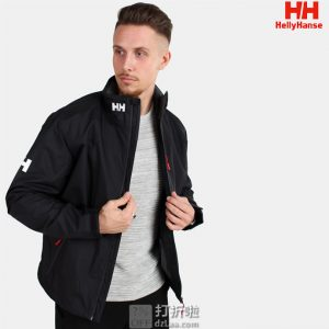 Helly Hansen 哈里汉森 Crew 双层HellyTech 防风防水保暖透气 户外男式冲锋衣 L码4.5折$75.08 海淘转运到手约¥591