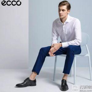 断码 ECCO 爱步 Calcan 系带正装男鞋 牛津鞋 4.2折$74.93 海淘转运到手约¥620