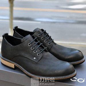限Prime会员 ECCO 爱步 Kenton 男式德比鞋 系带正装鞋 41码4.4折$86.84 海淘转运到手约¥675