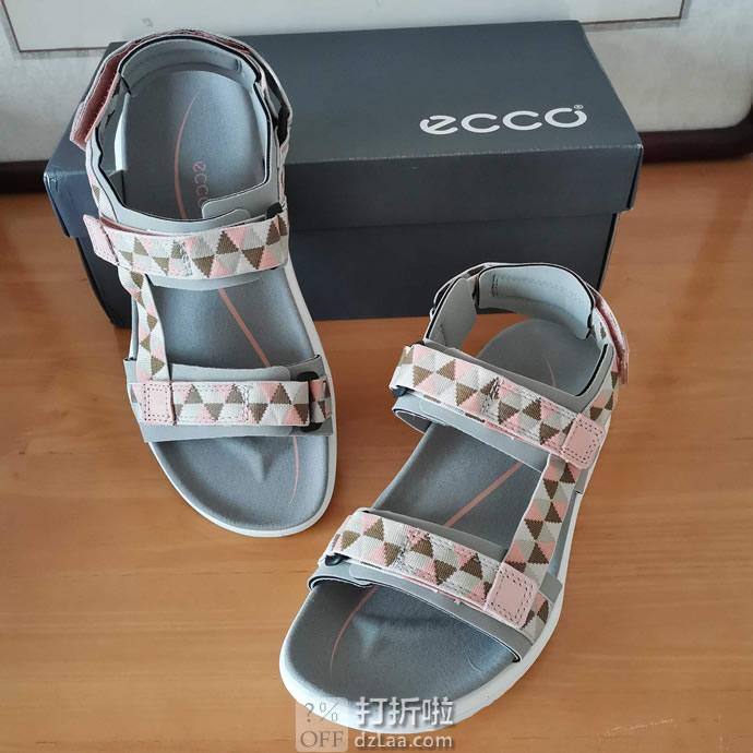 ECCO 爱步 X-Trinsic 全速系列 女式凉鞋 3.3折$39.39起 多色多码可选 海淘转运到手约¥339 天猫¥1199