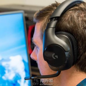 Logitech 罗技 G533 无线游戏耳机 7.1无线环绕声 4.9折$74 海淘转运到手约¥568 国内¥959