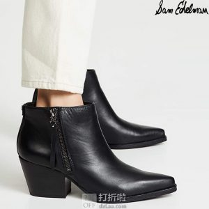 Sam Edelman Walden 女式踝靴 短靴 3折$44.95 海淘转运到手约¥408