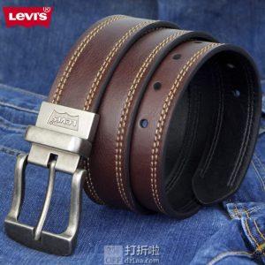 Levi's 李维斯 双面可穿 男式皮带 4折$18 海淘转运到手约¥145