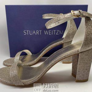 Stuart Weitzman 斯图尔特·韦茨曼 NEARLYNUDE 女式高跟凉鞋 36.5码3.2折$127.3 海淘转运到手¥982