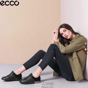 ECCO 爱步 Corksphere 1 酷型 女式休闲鞋 板鞋 3.2折$50.83 海淘转运到手约¥451 天猫¥1799
