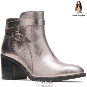 Hush Puppies 暇步士 Hannah Strap 女式踝靴 2.9折$34.5 海淘转运到手约¥334 天猫¥1859