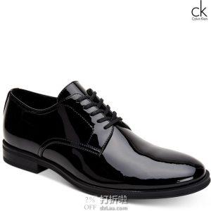 Calvin Klein 卡尔文克莱因 Wilbur CK 男式牛津鞋 8.5码2折$28.24 海淘转运到手约¥290