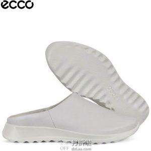 ECCO 爱步 Flexure随溢系列 女式穆勒鞋 3.7折$44.73 海淘转运到手约¥377