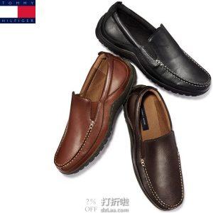 Tommy Hilfiger 汤美费格 Kerry 人造革 男式乐福鞋 9码2.4折$18.97海淘转运到手约¥224