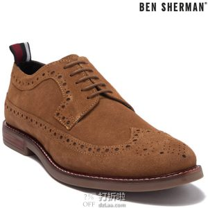 Ben Sherman 宾舍曼 Brent 男式布洛克鞋 2.4折$31.3 海淘转运到手约¥312