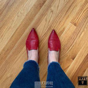 Frye 弗莱 Kenzie 女式乐福鞋 休闲鞋 2.5折$50 海淘转运到手约¥445