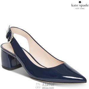 限尺码 kate spade 凯特·丝蓓 Mika 女式高跟凉鞋 2.8折$63.68 海淘转运到手约¥542