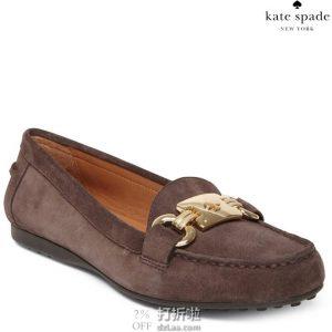 kate spade 凯特·丝蓓 Carson 女式平底乐福鞋 36码2.1折$30.86 海淘转运到手约¥309