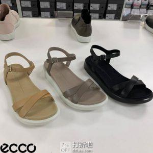 ECCO 爱步 Yuma系列 女式凉鞋 5.7折$50.96起 海淘转运到手约¥420
