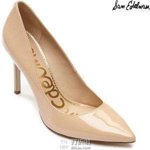 Sam Edelman Hazel 高跟鞋 加宽码 3.1折$40 海淘转运到手约¥374