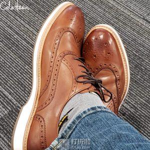 Cole Haan 可汗 Morris 布洛克风格 男式牛津鞋 正装鞋 4.7折$56 海淘转运到手约¥487