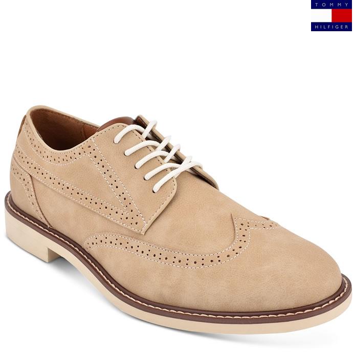 Tommy Hilfiger 汤美费格 Gendry 布洛克风格 男式牛津鞋 2.5折.25 海淘转运到手约¥240