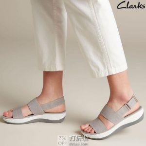 Clarks 其乐 CloudSteppers云步系列 Arla Jacory 女式凉鞋 沙滩鞋 3.1折$19.85 海淘转运到手约¥200