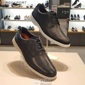 Rockport 乐步 Dressports 2 Go 男式牛津鞋 42.5码3.8折$45.81 海淘转运到手约¥415