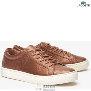 Lacoste 法国鳄鱼 L.12.12系列 女式休闲板鞋 38码2.7折$37.95 海淘转运到手约¥359