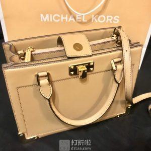 Michael KORS 迈克·科尔斯 KINSLEY ACCORDION 中号女式手提包 2折$99 海淘转运到手约¥762
