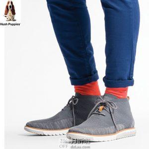 Hush Puppies 暇步士 Expert Chukka Knit 针织网面男式休闲短靴 2.7折$34.35 海淘转运到手约¥333
