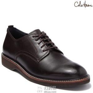 断码1.5折 Cole Haan 可汗 Morris 男式牛津鞋 40.5加宽码 2.1折$30 海淘转运到手约¥303
