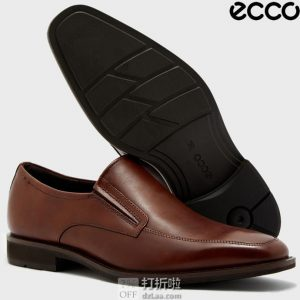 ECCO 爱步 Calcan 卡尔翰 一脚蹬 男式乐福鞋 40码4.5折$48.67 海淘转运到手约¥437