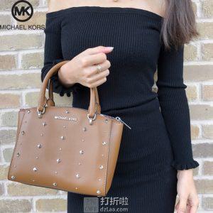Michael Kors 迈克·科尔斯 ELLIS系列 铆钉装饰 小号女式手提包 3.7折$121.26 海淘转运到手约¥925