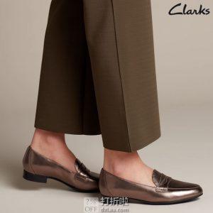 Clarks 其乐 Un系列 Blush Go 一脚套 女式乐福鞋 单鞋 1.9折$20.57 海淘转运到手约¥236 天猫¥503