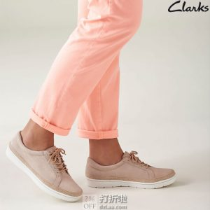 Clarks 其乐 Marie Mist 女式系带单鞋 3折$26.94 海淘转运到手约¥282 天猫¥479