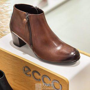 ECCO 爱步 Shape Sculpted Motion 型塑摩登 侧拉链 女式踝靴 3.1折$55.95 海淘转运到手约¥487 天猫¥1219