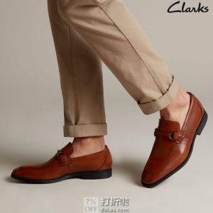 Clarks 其乐 Gilman Bit  男式乐福鞋 2.3折$25.68起 海淘转运到手约¥272 天猫¥679