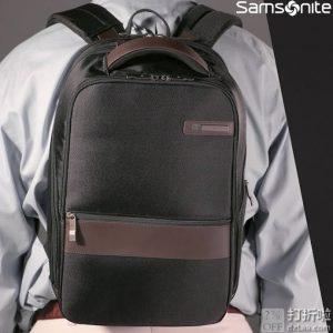 销量第一 Samsonite 新秀丽 Kombi Small 商务系列 弹道尼龙 小号双肩包 3.9折$34.99史低 海淘转运到手约¥332