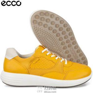 ECCO 爱步 SOFT 7 柔酷7号 路跑 女式休闲跑鞋 36码2.9折$52.05 海淘转运到手约¥459 天猫¥1599