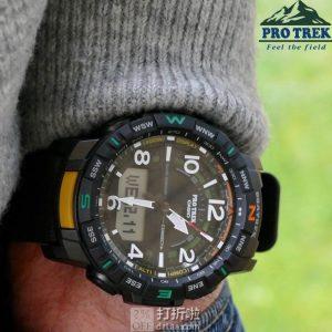 Casio 卡西欧 Pro Trek系列 PRT-B50-1CR 蓝牙 四重感应 户外登山表 7.1折$142史低 海淘转运关税补贴到手约¥1143