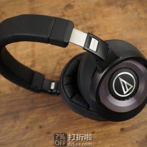 Audio-Technica 铁三角 ATH-WS1100iS Hi-Res超高解析 头戴式重低音耳机 带线控带麦 5.6折$127.99 海淘转运到手约¥952