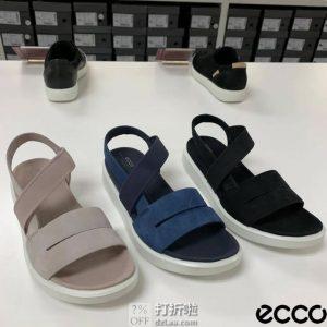 ECCO 爱步 Yuma系列 女式凉鞋 36码5.6折$50.36 海淘转运到手约¥416