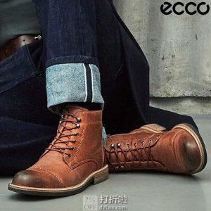 ECCO 爱步 Kenton 男式复古短靴 40码2.9折$67.05 海淘转运到手约¥570