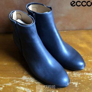 ECCO 爱步 Shape 35 Stitch 型塑系列 女式短靴 35码优惠券折后$35.21 海淘转运到手约¥342 天猫¥1319